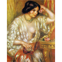 Reprodukcje obrazów Gabrielle aux Bijoux - Auguste Renoir