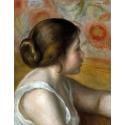 Reprodukcje obrazów Head of a Young Girl - Auguste Renoir