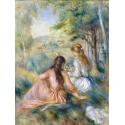 Reprodukcje obrazów In the Meadow - Auguste Renoir