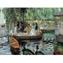 Reprodukcje obrazów La Grenouillère - Auguste Renoir