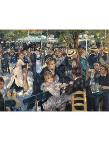 Reprodukcje obrazów Le Moulin de la Galette - Auguste Renoir