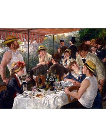 Reprodukcje obrazów Luncheon of the Boating Party - Auguste Renoir