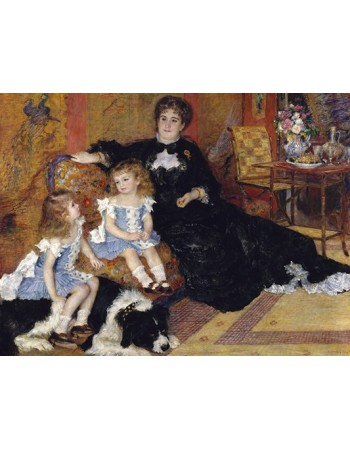 Madame Georges Charpentier and Her Children