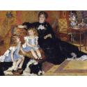 Reprodukcje obrazów Madame Georges Charpentier and Her Children - Auguste Renoir