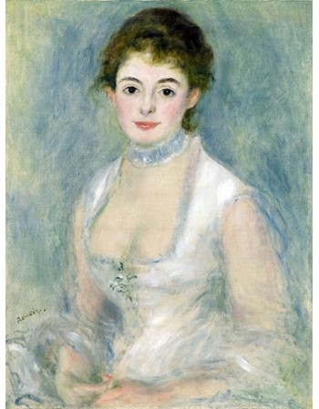 Reprodukcje obrazów Madame Henriot - Auguste Renoir