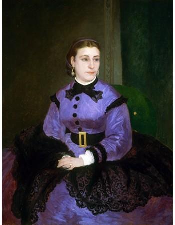 Reprodukcje obrazów Mademoiselle Sicot - Auguste Renoir