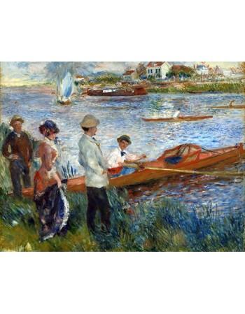 Reprodukcje obrazów Oarsmen at Chatou - Auguste Renoir