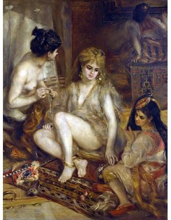 Reprodukcje obrazów Parisiennes in Algerian Costume or Harem - Auguste Renoir