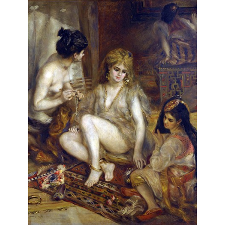 Parisiennes in Algerian Costume or Harem