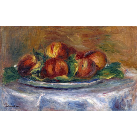 Peaches on a Plate