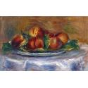 Reprodukcje obrazów Peaches on a Plate - Auguste Renoir