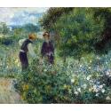 Reprodukcje obrazów Picking Flowers - Auguste Renoir