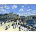 Reprodukcje obrazów Pont Neuf - Auguste Renoir