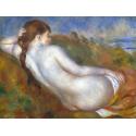 Reprodukcje obrazów Reclining Nude - Auguste Renoir