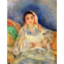 Reprodukcje obrazów Seated Algerian Woman - Auguste Renoir