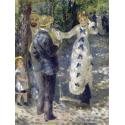 Reprodukcje obrazów The Swing - Auguste Renoir