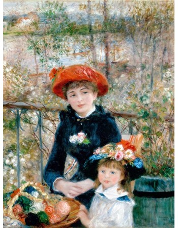 Reprodukcje obrazów The Two Sisters, On the Terrace - Auguste Renoir