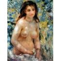 Reprodukcje obrazów Torse, effet de soleil - Auguste Renoir