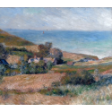 Reprodukcje obrazów View of the Seacoast near Wargemont in Normandy - Auguste Renoir