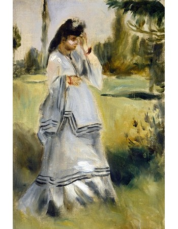 Woman in a Park