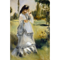 Reprodukcje obrazów Woman in a Park - Auguste Renoir
