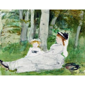 Reprodukcje obrazów At the Edge of the Forest - Berthe Morisot