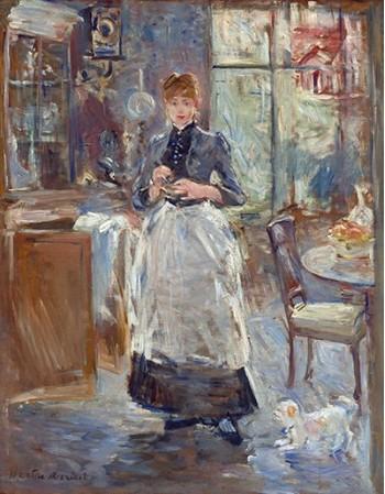 Reprodukcje obrazów In the Dining Room - Berthe Morisot