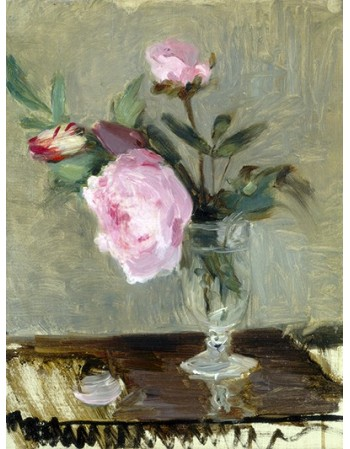 Reprodukcje obrazów Peonies - Berthe Morisot