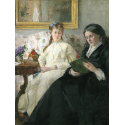 Reprodukcje obrazów The Mother and Sister of the Artist - Berthe Morisot