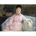 Reprodukcje obrazów The Pink Dress - Berthe Morisot