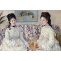 Reprodukcje obrazów The Sisters - Berthe Morisot