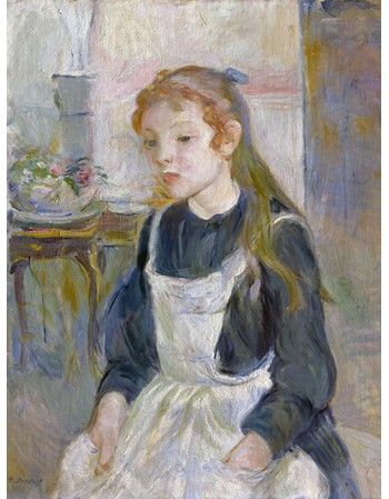 Young Girl with an Apron