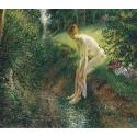 Reprodukcje obrazów Bather in the Woods - Camille Pissarro