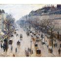 Reprodukcje obrazów Boulevard Montmartre - Camille Pissarro