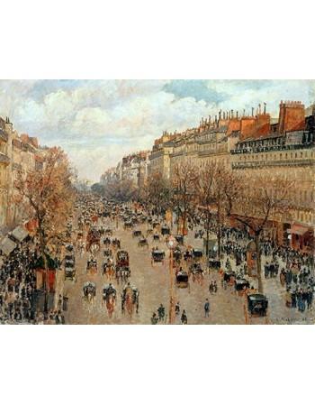 Reprodukcje obrazów Boulevard Montmartre -Eremitage - Camille Pissarro
