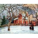 Reprodukcje obrazów Châtaigniers à Louveciennes - Camille Pissarro
