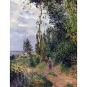 Reprodukcje obrazów Côte des Grouettes, near Pontoise - Camille Pissarro
