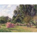 Reprodukcje obrazów Haystacks, Morning - Camille Pissarro