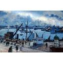 Reprodukcje obrazów Le Havre - Camille Pissarro
