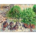 Reprodukcje obrazów Place du Theatre-Francais, Spring - Camille Pissarro