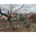 Reprodukcje obrazów The Fence - Camille Pissarro