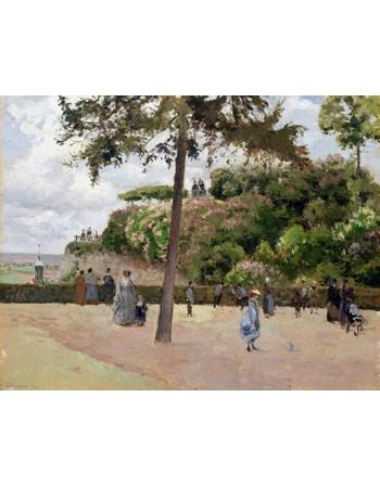 The Public Garden at Pontoise