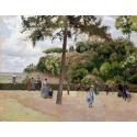 Reprodukcje obrazów The Public Garden at Pontoise - Camille Pissarro
