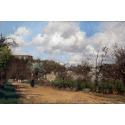 Reprodukcje obrazów View from Louveciennes - Camille Pissarro