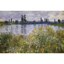 Reprodukcje obrazów Banks of the Seine, Vétheuil - Claude Monet