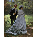 Reprodukcje obrazów Bazille and Camille - Claude Monet