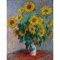 Reprodukcje obrazów Bouquet of Sunflowers - Claude Monet