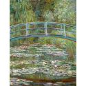 Reprodukcje obrazów Bridge over a Pond of Water Lilies - Claude Monet