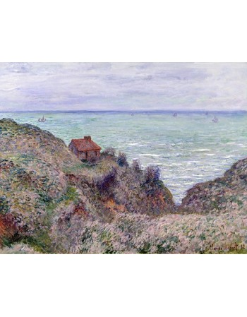 Reprodukcje obrazów Cabin of the Customs Watch - Claude Monet