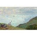 Reprodukcje obrazów Cliffs at Pourville - Claude Monet